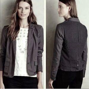NEW Hei Hei Gray Delanie Blazer Jacket